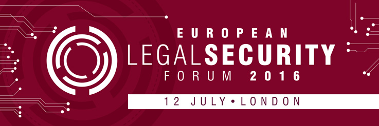 European Legal Security Forum 2016 - An Event by Netlaw Media