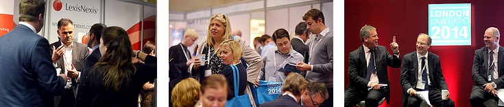 London Law Expo 2014 - photo strip 2