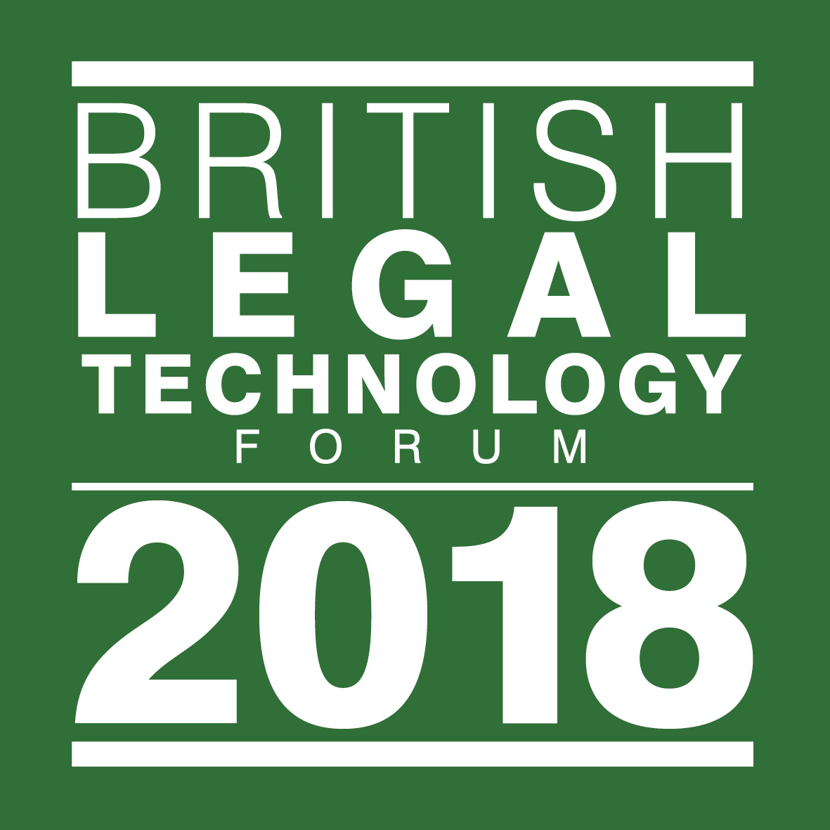 The British Legal Technology Forum 2018