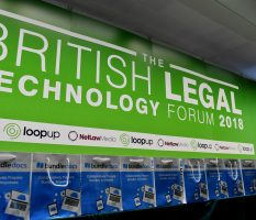 British Legal Technology Forum 2018 – 13th March 2018